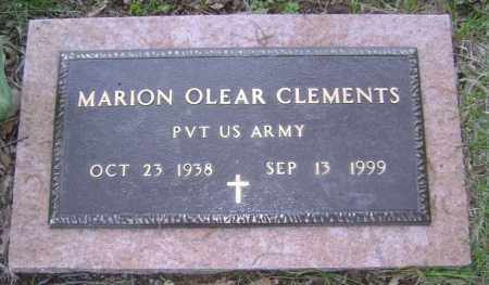 CLEMENTS (VETERAN), MARION OLEAR - Lawrence County, Arkansas | MARION OLEAR CLEMENTS (VETERAN) - Arkansas Gravestone Photos