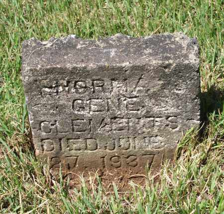 """CLEMENTS, NORMA JEAN """"GENE"""" - Lawrence County, Arkansas 