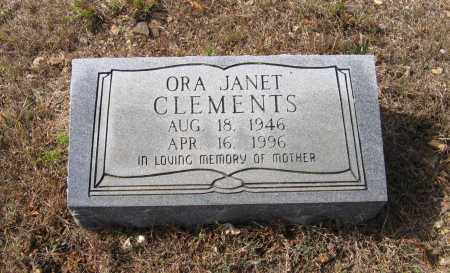 CLEMENTS, ORA JANET - Lawrence County, Arkansas | ORA JANET CLEMENTS - Arkansas Gravestone Photos