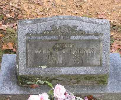 CLEMENTS, OWEN PARLEE - Lawrence County, Arkansas | OWEN PARLEE CLEMENTS - Arkansas Gravestone Photos