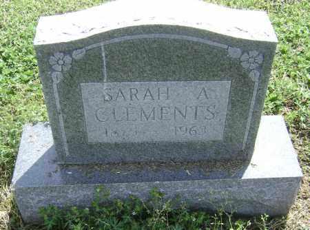 CLEMENTS, SARAH A. - Lawrence County, Arkansas | SARAH A. CLEMENTS - Arkansas Gravestone Photos