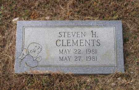 CLEMENTS, STEVEN H. - Lawrence County, Arkansas   STEVEN H. CLEMENTS - Arkansas Gravestone Photos