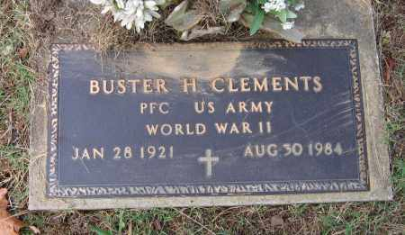 CLEMENTS (VETERAN WWII), BUSTER HOMER - Lawrence County, Arkansas   BUSTER HOMER CLEMENTS (VETERAN WWII) - Arkansas Gravestone Photos