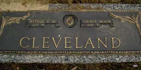 CLEVELAND, SR (VETERAN), ARTHUR RICHARD - Lawrence County, Arkansas | ARTHUR RICHARD CLEVELAND, SR (VETERAN) - Arkansas Gravestone Photos