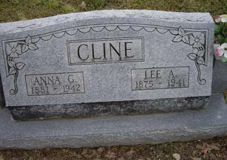 CLINE, LEE A. - Lawrence County, Arkansas | LEE A. CLINE - Arkansas Gravestone Photos