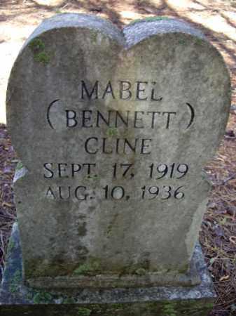 BENNETT CLINE, MABEL - Lawrence County, Arkansas   MABEL BENNETT CLINE - Arkansas Gravestone Photos