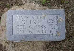 CLINE, MARK ALLEN - Lawrence County, Arkansas | MARK ALLEN CLINE - Arkansas Gravestone Photos