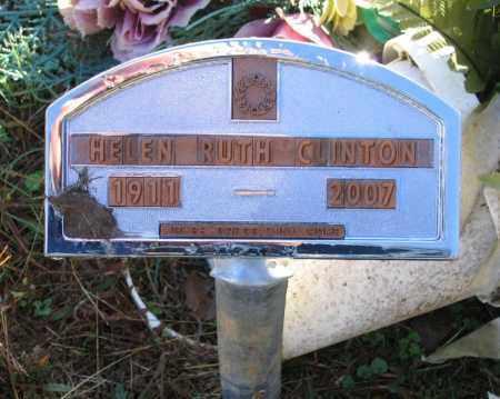 GARDNER CLINTON, HELEN RUTH - Lawrence County, Arkansas | HELEN RUTH GARDNER CLINTON - Arkansas Gravestone Photos
