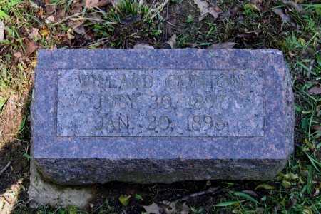 CLINTON, WILLARD - Lawrence County, Arkansas | WILLARD CLINTON - Arkansas Gravestone Photos