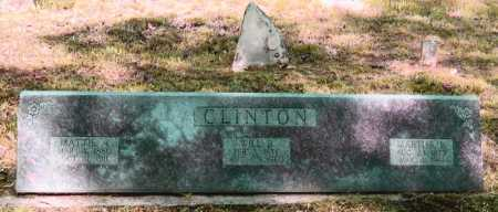 JUSTUS CLINTON, MARTHA E. - Lawrence County, Arkansas | MARTHA E. JUSTUS CLINTON - Arkansas Gravestone Photos