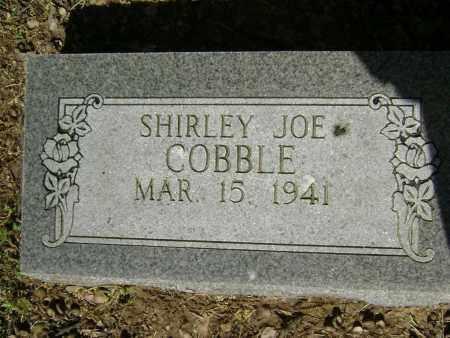 COBBLE, SHIRLEY JOE - Lawrence County, Arkansas | SHIRLEY JOE COBBLE - Arkansas Gravestone Photos