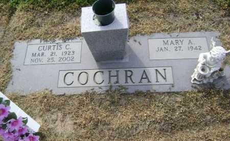 COCHRAN, CURTIS C. - Lawrence County, Arkansas | CURTIS C. COCHRAN - Arkansas Gravestone Photos