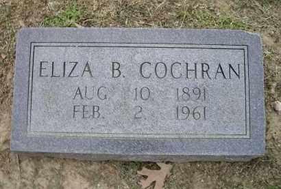 COCHRAN, ELIZA B. - Lawrence County, Arkansas | ELIZA B. COCHRAN - Arkansas Gravestone Photos