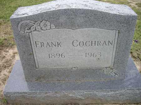 COCHRAN, FRANK - Lawrence County, Arkansas   FRANK COCHRAN - Arkansas Gravestone Photos