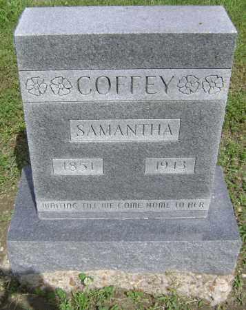 COFFEY, SAMANTHA - Lawrence County, Arkansas   SAMANTHA COFFEY - Arkansas Gravestone Photos