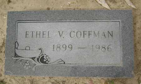 PENNY COFFMAN, ETHEL VIVIAN LEE - Lawrence County, Arkansas | ETHEL VIVIAN LEE PENNY COFFMAN - Arkansas Gravestone Photos