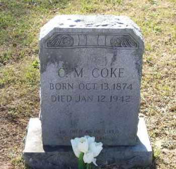 COKE, CORNELIUS MORGAN - Lawrence County, Arkansas   CORNELIUS MORGAN COKE - Arkansas Gravestone Photos