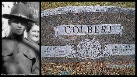 COLBERT (VETERAN - WWI), HUBERT HOUSTON - Lawrence County, Arkansas | HUBERT HOUSTON COLBERT (VETERAN - WWI) - Arkansas Gravestone Photos