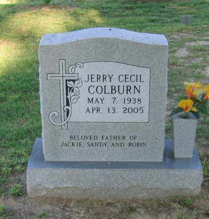 COLBURN, JERRY CECIL - Lawrence County, Arkansas | JERRY CECIL COLBURN - Arkansas Gravestone Photos