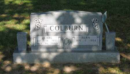 COLBURN, JEARL - Lawrence County, Arkansas | JEARL COLBURN - Arkansas Gravestone Photos