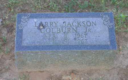 COLBURN, JR., LARRY JACKSON - Lawrence County, Arkansas   LARRY JACKSON COLBURN, JR. - Arkansas Gravestone Photos