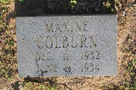 COLBURN, MAXINE - Lawrence County, Arkansas | MAXINE COLBURN - Arkansas Gravestone Photos