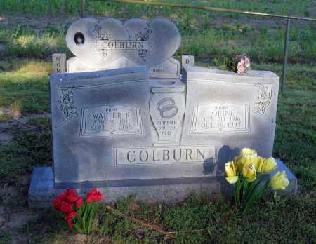 COLBURN, WALTER R. - Lawrence County, Arkansas   WALTER R. COLBURN - Arkansas Gravestone Photos