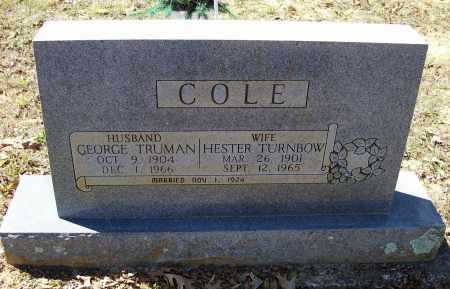 COLE, GEORGE TRUMAN - Lawrence County, Arkansas | GEORGE TRUMAN COLE - Arkansas Gravestone Photos