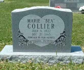 "COLLIER, IDA MARIE ""BEA"" - Lawrence County, Arkansas | IDA MARIE ""BEA"" COLLIER - Arkansas Gravestone Photos"