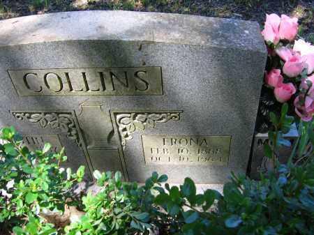 COLLINS, FRONA - Lawrence County, Arkansas | FRONA COLLINS - Arkansas Gravestone Photos