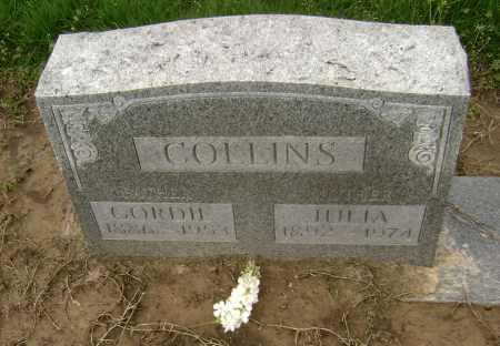 COLLINS, GORDIE - Lawrence County, Arkansas | GORDIE COLLINS - Arkansas Gravestone Photos
