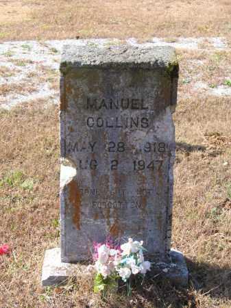 COLLINS, MANUEL - Lawrence County, Arkansas | MANUEL COLLINS - Arkansas Gravestone Photos