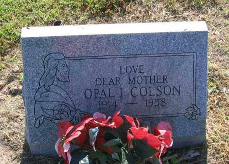 COLSON, OPAL I. - Lawrence County, Arkansas | OPAL I. COLSON - Arkansas Gravestone Photos