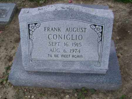 CONIGLIO, FRANK AUGUST - Lawrence County, Arkansas | FRANK AUGUST CONIGLIO - Arkansas Gravestone Photos
