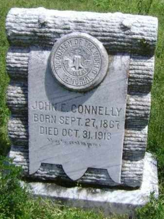 CONNELLY, JOHN E. - Lawrence County, Arkansas | JOHN E. CONNELLY - Arkansas Gravestone Photos
