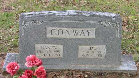 "CONWAY, JEFFERSON EDGAR ""EDD"" - Lawrence County, Arkansas | JEFFERSON EDGAR ""EDD"" CONWAY - Arkansas Gravestone Photos"