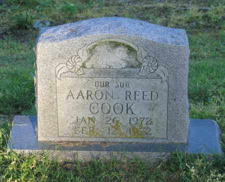 COOK, AARON REED - Lawrence County, Arkansas | AARON REED COOK - Arkansas Gravestone Photos