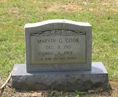 COOK, MARVIN G. - Lawrence County, Arkansas   MARVIN G. COOK - Arkansas Gravestone Photos