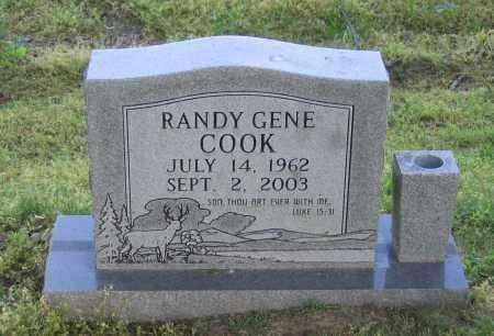 COOK, RANDY GENE - Lawrence County, Arkansas   RANDY GENE COOK - Arkansas Gravestone Photos