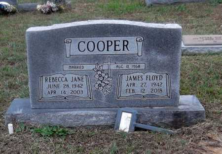MORGAN COOPER, REBECCA JANE - Lawrence County, Arkansas | REBECCA JANE MORGAN COOPER - Arkansas Gravestone Photos