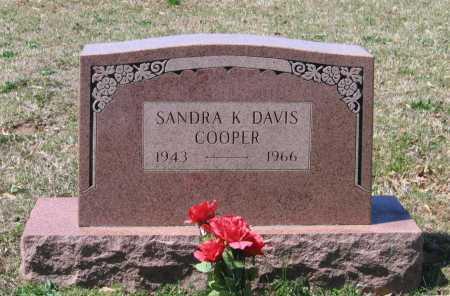 DAVIS COOPER, SANDRA KAY - Lawrence County, Arkansas | SANDRA KAY DAVIS COOPER - Arkansas Gravestone Photos