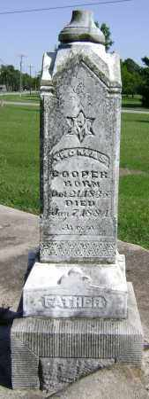 COOPER (VETERAN CSA), THOMAS - Lawrence County, Arkansas | THOMAS COOPER (VETERAN CSA) - Arkansas Gravestone Photos