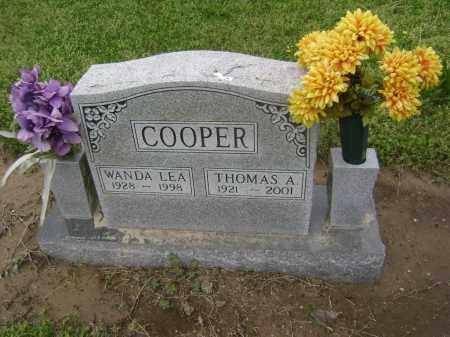 HANCE COOPER, WANDA LEA - Lawrence County, Arkansas | WANDA LEA HANCE COOPER - Arkansas Gravestone Photos