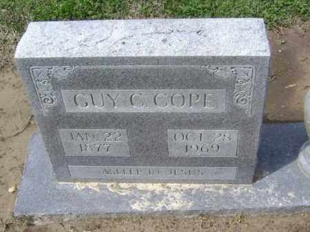 COPE, GUY CLIFFORD - Lawrence County, Arkansas   GUY CLIFFORD COPE - Arkansas Gravestone Photos