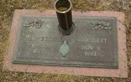 CORBETT, MONETTA LYN - Lawrence County, Arkansas | MONETTA LYN CORBETT - Arkansas Gravestone Photos