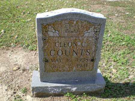COUNTS, CLEON C. - Lawrence County, Arkansas | CLEON C. COUNTS - Arkansas Gravestone Photos
