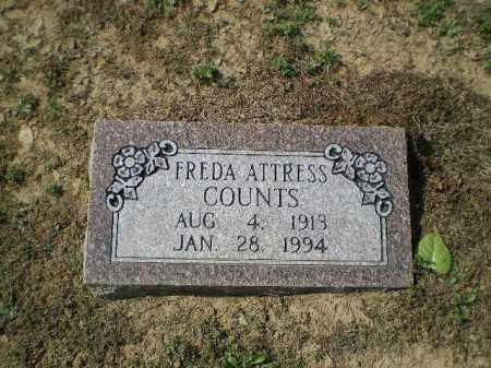 ATTRESS COUNTS, FREDA - Lawrence County, Arkansas | FREDA ATTRESS COUNTS - Arkansas Gravestone Photos