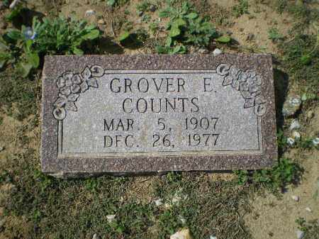 COUNTS, GROVER E. - Lawrence County, Arkansas | GROVER E. COUNTS - Arkansas Gravestone Photos