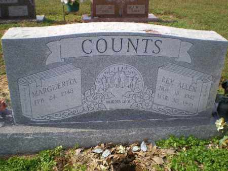 COUNTS, REX ALLEN - Lawrence County, Arkansas | REX ALLEN COUNTS - Arkansas Gravestone Photos