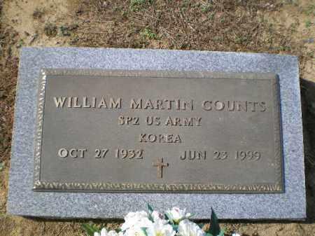COUNTS (VETERAN KOR), WILLIAM MARTIN - Lawrence County, Arkansas | WILLIAM MARTIN COUNTS (VETERAN KOR) - Arkansas Gravestone Photos